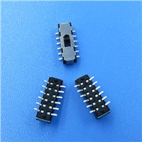 Mini Micro PCB SMD SMT Surface Mount 2P2T Slide Switch