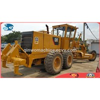 USED CAT (14G) Wheel Motor Grader with Good Condition