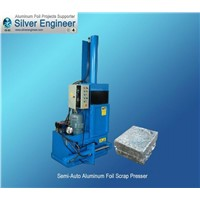 Automatic PLC Control Scrap Presser Aluminum Foil Making Machine