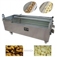 Potato washing peeling machine carrot washing peeling machine cavassa peeler