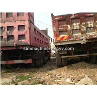 Used condition Howo year 2012 25t 6*4 dump truck second hand howo 25t dumper sale