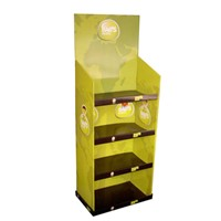 ECO Green Material Flooring Display for Toy Display Cabinet, POP Up Cardboard Display Stand