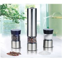 Electric pepper mill set