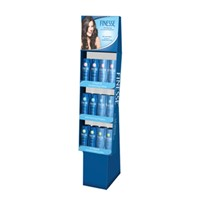 FSDU Paper Display Stand for Shampoo Display, Cardboard Floor Stand Displays