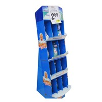 New Excellent Corrugated Display for Spray Can Display Rack, 3 Tier Acrylic Display Case