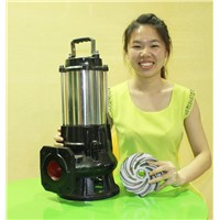High quality submersible sewage water pump with vortex impeller