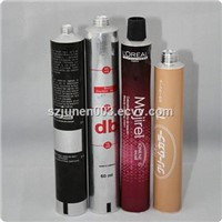 Aluminum Hair Dye Color Tube Packaging