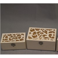 decoration wooden packing box for hot sale