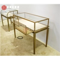 stainless steel jewelry showcase, display showcase, product display counter