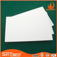 High quality pure heat resistance insulation alumina silicate ceramic fiber board