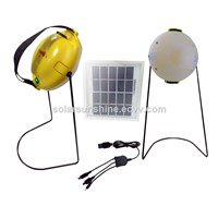 Hot Selling Yellow Solar Lantern with USB mobile chargers and 3 brightness led solar lantern