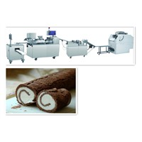 chocolate rolls molding machine