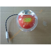 2015 newest mini speaker, led light apple speaker, Sell Promotion Electronic products