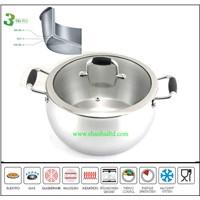 3ply Wholesale High quality induction casserole