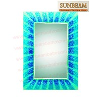 Bathroom Mirror/Hotmelt Mirror/Silver Mirror/Beveled Mirror/Dressing Mirror/Bath Mirror