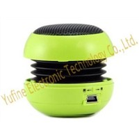 Hot selling mini hamburger speaker, metal net hamburger speaker factory