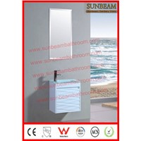 PVC wall hung high shining bathroom vanity/bathroom cabinet/bathroom furniture