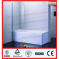 freestanding bathtub with shower screen/bath screen/shower door/shower cubicle