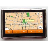 "huiaotech made-in-china cheap 4.3"" GPS Navigator with IGO,Ndrive,Papago map"