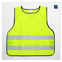 Custom High Visibility Reflective Safety Vests For Cycling