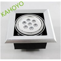 High quality hot sell 5w 6w 7w 10w 11w 12W 9w led grille light