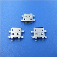 2.0/3.0mm 5 Pin SMD SMT USB Female Connector