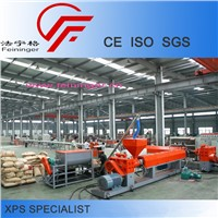 XPS Machine, single screw extruder, machine for styrofoam