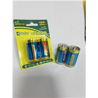 LR14 C alkaline battery with high quality