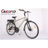 Aluminum alloy front fork electric bike