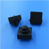 2 Pin 3 Position Latching PCB Mount Push Button Switch
