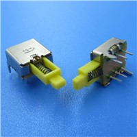 2P2T 6 Pin Self Locked Push Button Switch