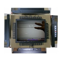 10points 15 Inch capacitance Touch Screen Monitor for industrial PC Frame touch screen Monitor
