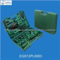 12 pcs garden tool sets in cases(EGS12PL0003)