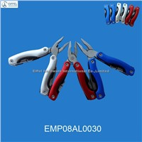 Multi tool with LED torch , handle color can be customized (EMP08AL0030)