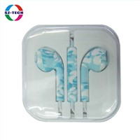 Earphone Blue-and-White-Porcelain earphone (SZ-EP011-02)