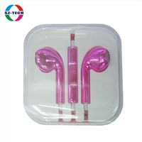 Pink-plated earphone (SZ-EP005-PK)