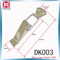 H&D DK003 Stainless Steel Toggle Latch / Spring Loaded  / Flat Mouth Hasp For Box Case Cabinet