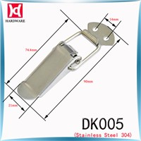 H&D DK005 Stainless Steel Toggle Latch / Hasp Lock  / Flat Mouth Hasp For Box Case Cabinet