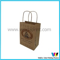 promotional kraft brown shoppingbox