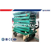 Movable and Fixed Hydraulic Platform Lift small scissor lift platform