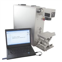Portable laser fiber metal color marking machine, 10w 20w 30w