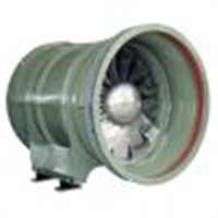 Tunnel Ventilation Fan with cast aluminium impeller
