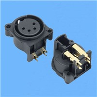 XLR Cannon Female Connector