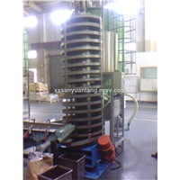 Vertical stainless steel Screw Vibrating Elevator
