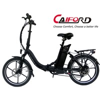 Folding mini electric bike