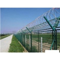 Galvanized Razor Barbed Wire Fence