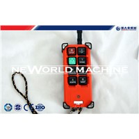 Suspended Platform Parts F21-E1 Industrial remote control crane with 8 action buttons