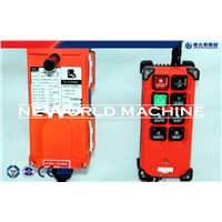 Industrial remote control F23 - A++ wireless radio remote control for electric hoist crane