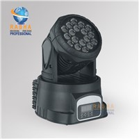 18pcs*3W RGB Tri Color LED Moving Head Wash Light, American DJ Light