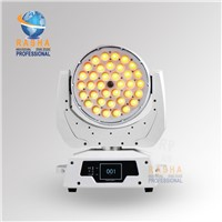 Big Sale New 36*18W 6in1 RGBAW+UV LED Zoom Moving Head Wash With Touch Screen,Stage Light